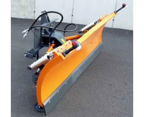 Snežný pluh s 3 bodovým závesom LN -hydraulické natáčanie