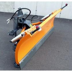 Hydraulické natáčanie- snežný pluh s 3 bodovým závesom LN