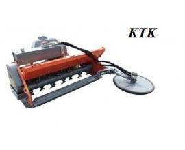 Séria KTK- mulčovač zadný s výkyvným kosiacim diskom