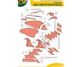 Orební těleso UN350-UN400