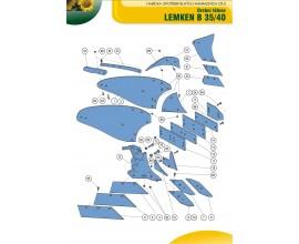 Orbové teleso Lemken B35, B40