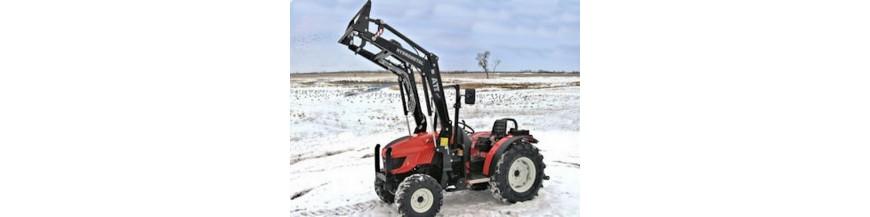 Čelné traktorové nakladače